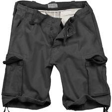 Excedentes Militares Hombres Carga Combate Vintage Shorts Lavado 100 % Algodón N