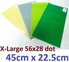 X Large 56 x 28 Studs (M) 45cmx22.5cm  BASE PLATE Compatible Construction Blocks