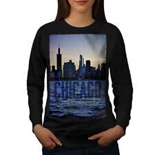 Chicago Town Port Women Sweatshirt NEW | Wellcoda