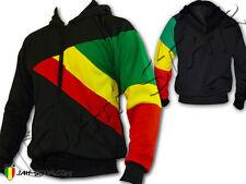 Veste Capuche Giacca Hoodie Reggae Rasta Africa 3 Couleurs  Jah Star Wear