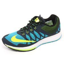 C5322 sneaker uomo NIKE AIR ZOOM ELITE 7 nero/azzurro/giallo shoe man