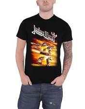 Judas Priest Camiseta Arsenal álbum banda logotipo nuevo oficial para hombre negro