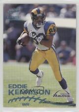 1998 Pacific Paramount Platinum Blue #195 Eddie Kennison St. Louis Rams Card
