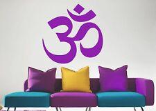 Om Symbol Hindu Mantra Aum Sanskrit Deco Vinyl Wall StickerArt Decal