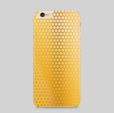 Motivo a nido d'ape api polline Telefono Case Cover