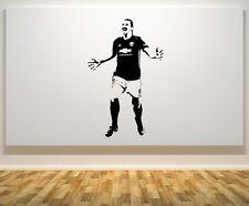 ZLATAN IBRAHIMOVIC Manchester United Giocatore di Calcio Decalcomania Muro Adesivo FOTO