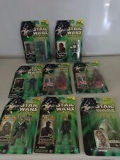 HUGE SELECTION STAR WARS 00/01 Power Of The Jedi Sneek Peek ACTION FIGURES MOC