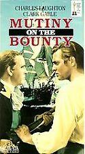 NEW VHS Mutiny on the Bounty: Clark Gable Charles Laughton Franchot Tone D Crisp
