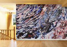 3D Farbige Wasserwellen 355  Fototapeten Wandbild Fototapete BildTapete Familie