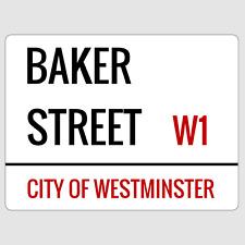 Baker Street London Street Sign Plaque Aluminium