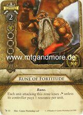 Warhammer Invasion - 1x Rune of Fortitude  #013
