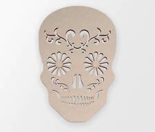 Wooden Shape Sugar Skull, Wooden Cut Out, Wall Art, Home Decor, Wall Hanging