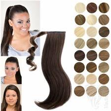 Haarteil Zopf Pferdschwanz Haarverlängerung Haarverdichtung 30 50 60cm 16 Farben