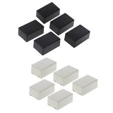 5Pcs Plastic Electronic Project Box Enclosure Instrument Case 70x45x30mm DIY W