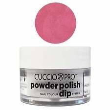 Cuccio Pro Powder Polish Acrylic Dipping Powder - Rose W Rainbow Mica 14g Or 45g