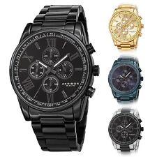 Men's Akribos XXIV AK1072 Quartz Chronograph Stainless Steel Bracelet Watch