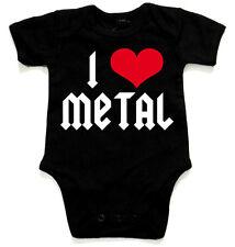 I LOVE METAL Black Baby-Body