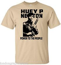 Black history T-shirt, Huey P Newton, Malcolm X, Martin Luther King Cotton Tee