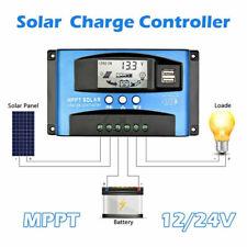 30-100A MPPT poder regulador Panel Solar controlador de carga 12/24V
