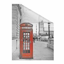 Lichtblick Fensterfolie selbstklebend, Sichtschutz, London rot