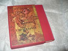 MARTEGANI RONSISVALLE ROMA IL DIAVOLO E L'ACQUASANTA 1aEDIZ.1962 CANESI EDITORE