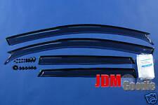 Genuine JDM Mazda 3 Axela Sedan Visor Rain Guards Set 04-09