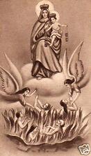 SANTINO HOLY CARD MADONNA DEL CARMINE n 1