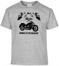 T-Shirt, Honda VT 750 Shadow ,Pinup,Motorrad,Bike,Oldtimer,Youngtimer
