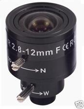 2.8-12MM CCTV Camera Lens man-Iris Vari-Focal board IR