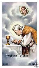 SANTINO HOLY CARD PAPA SAN PIO X N 1
