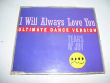 TEARS ´N JOY - I WILL ALWAYS LOVE YOU  4tr.CD MAXI 1993