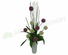 NEW Artificial Flowers/Plants FA1012 - Allium Floral Arrangement