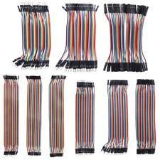40 Pcs Dupont Cables M-F/M-M/F-F Jumper Breadboard Wire GPIO Ribbon Pi Arduino