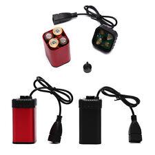 AA Battery Power Bank Case Box USB Charging Battery Pack Case Box For Bike  JB