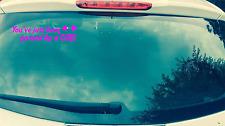 Pasado por Niña Pegatina de Coche Divertido Girl Power Car9