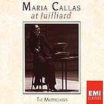 Maria Callas at Juilliard: The Masterclasses; 1987 3-CD Set, Opera Soprano, EMI