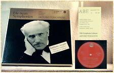 LP Beethoven nove sinfonie 6 LP ARTURO TOSCANINI Red Seal EDIZIONE NUMERATA