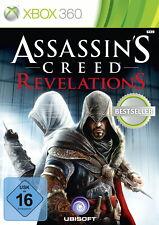 XBOX 360 gioco Assassin 'S CREED REVELATIONS con istruzioni buono stato + OVP
