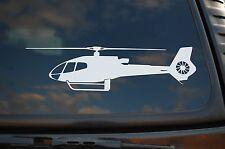 EC 130 Helicopter Sticker Vinyl Decal Eurocopter Car Window Choose Size (V417)
