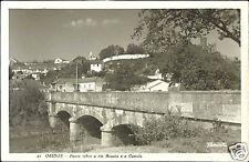 portugal, OBIDOS, Ponte Sobre o Rio Arnois (1950s) RPPC