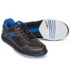 Strikeforce Flyer Bowling Shoes Black Blue Wide Width