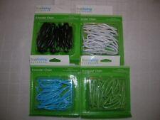"Extender chain hanging basket planter (CHOICE green,black,white) 36"" C18"