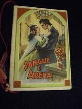 ***CALENDARIETTO BARBIERE 1949*** SANGUE E ARENA