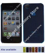 Ultradünn Leicht Kristall Klar Plastiktasche für Apple Iphone 4