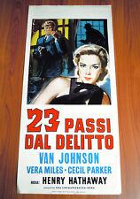 23 PASSI DAL DELITTO locandina poster Vera Miles Paces to Baker Street 1956 K64