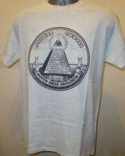 Annuit Coeptis US Dollar Latin T Shirt All Seeing Eye Illuminati John Lennon 011