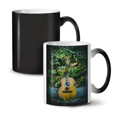 GUITAR SONG NATURA MUSIC NUOVO colore modifica Tè Tazza Da Caffè 11 OZ (ca. 311.84 g) | wellcoda
