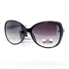 Designer Fashion Womens Sunglasses Oversize Round Butterfly Frame