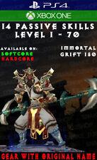 Diablo 3 - PS4 - Xbox One - Fully Modded PRIMAL Set - Monkey King's - Monk - V2