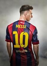 Lionel MESSI Barcellona ART PRINT FOTO POSTER A3 A4